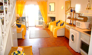 Bargain: Beachfront penthouse apartment for sale, on the border between Marbella and Mijas at the Costa del Sol. 3