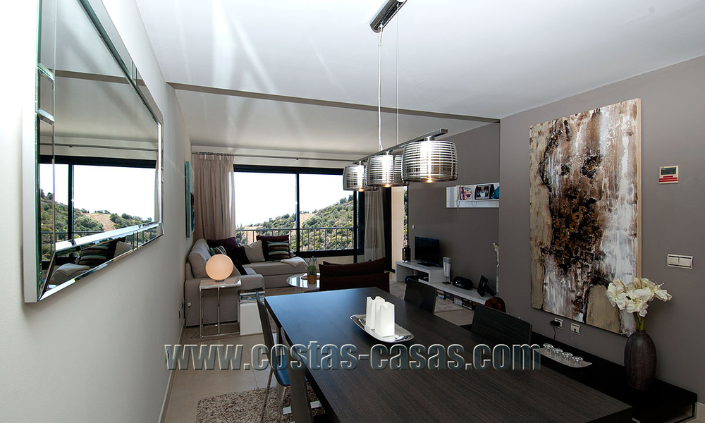 For Sale: Modern Luxury Apartment in Marbella with spectacular sea view 27369