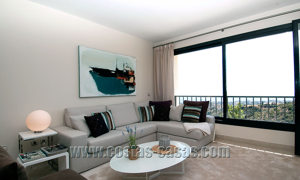 For Sale: Modern Luxury Apartment in Marbella with spectacular sea view 27371
