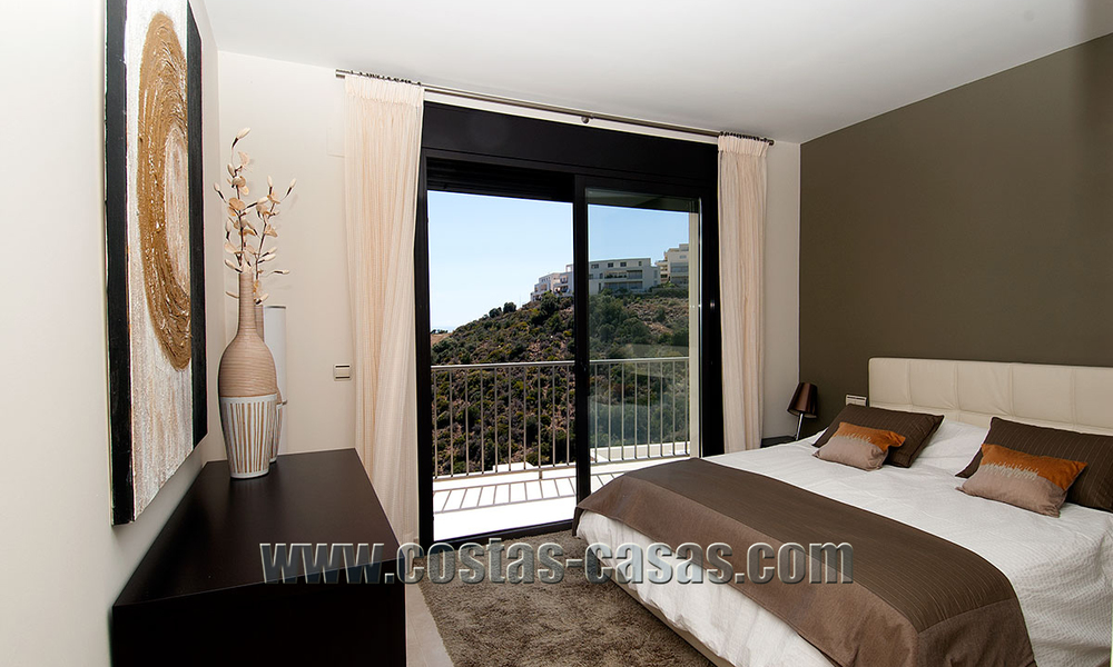 For Sale: Modern Luxury Apartment in Marbella with spectacular sea view 27377