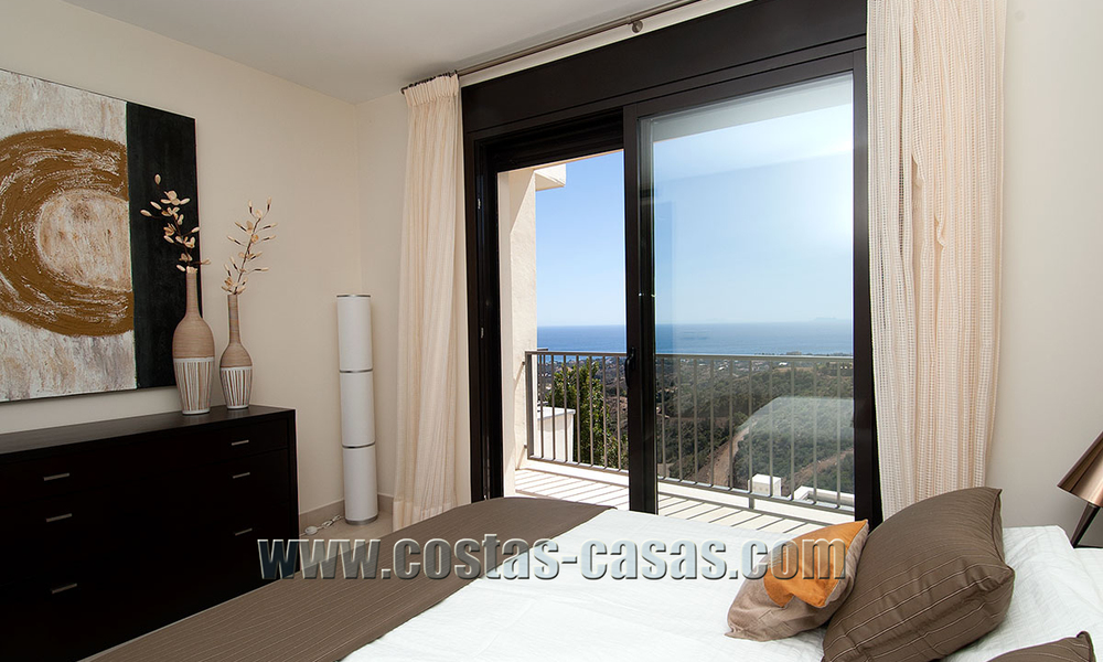 For Sale: Modern Luxury Apartment in Marbella with spectacular sea view 27378