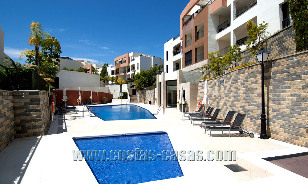 For Sale: Modern Luxury Apartment in Marbella with spectacular sea view 27396