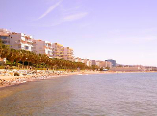 Beachfront apartment for sale, centre Marbella