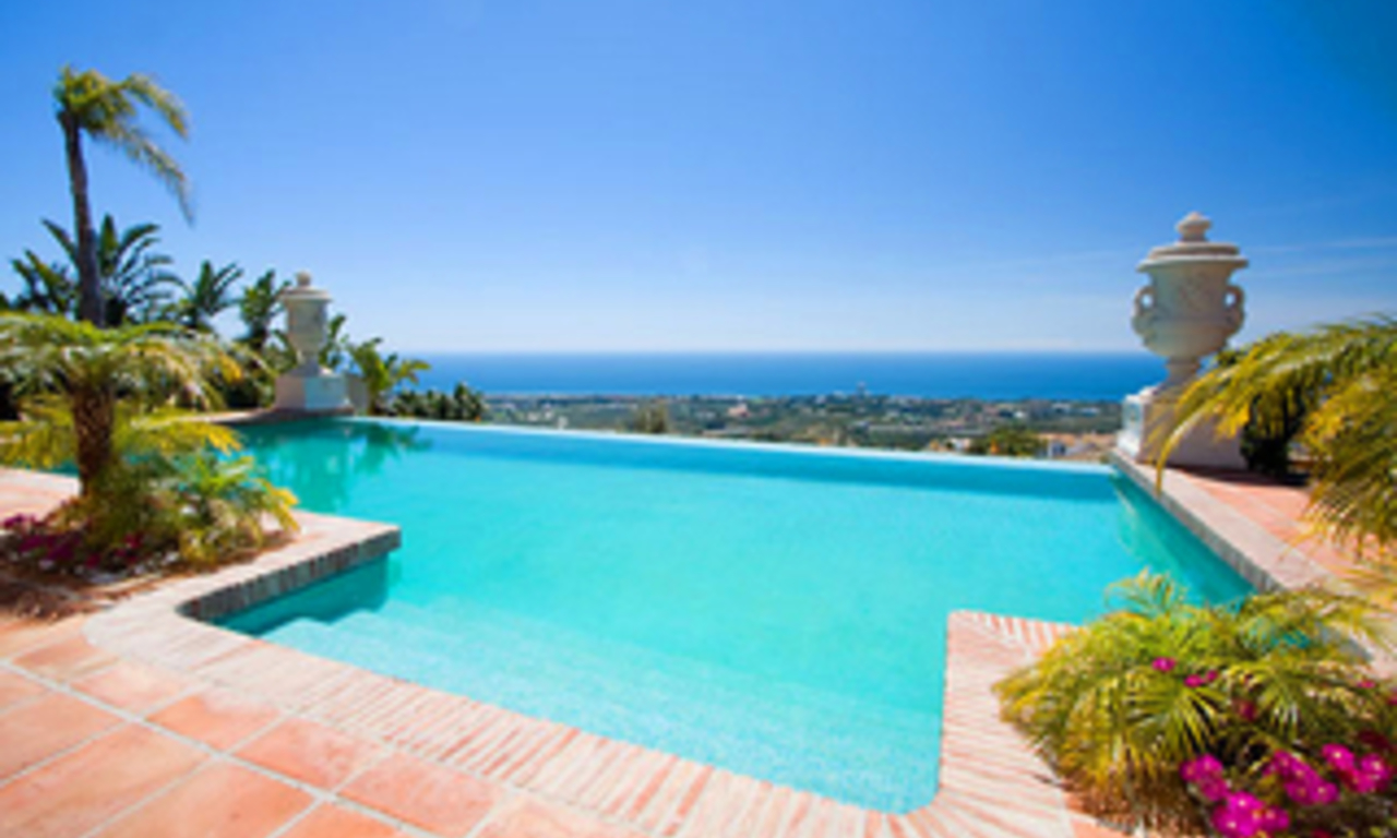 Newly built luxury villa for sale in Marbella east 0