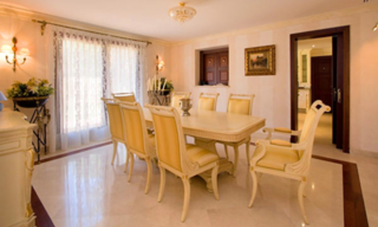 Newly built luxury villa for sale in Marbella east 4