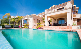 Newly built luxury villa for sale in Marbella east 1