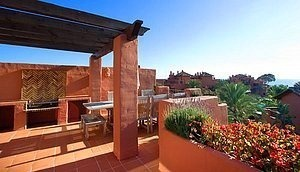 Beachfront Penthouse apartment for sale, New Golden Mile, Marbella - Estepona.