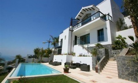 New modern luxury villa for sale, Benalmadena, Costa del Sol 1