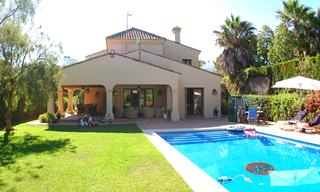 Beachside villa for sale, close to the beach in Marbella east 0