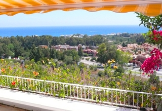 Penthouse apartment with private pool for sale, Golden Mile, Marbella