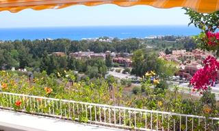 Penthouse apartment with private pool for sale, Golden Mile, Marbella 0