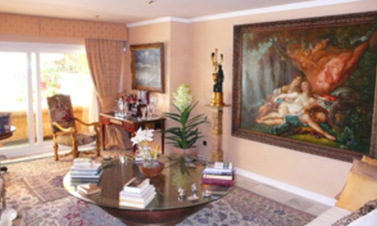 Penthouse apartment with private pool for sale, Golden Mile, Marbella 6