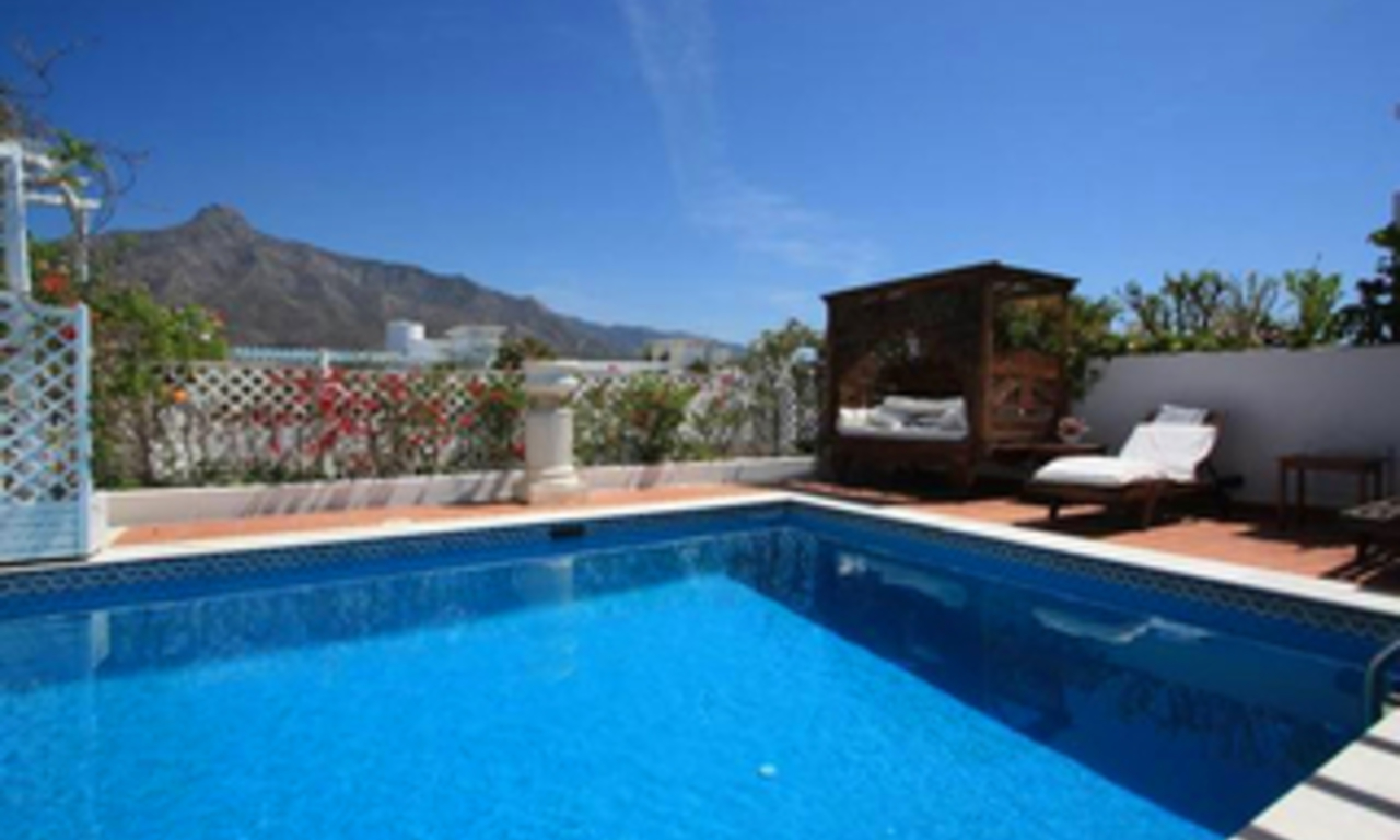 Penthouse apartment with private pool for sale, Golden Mile, Marbella 15