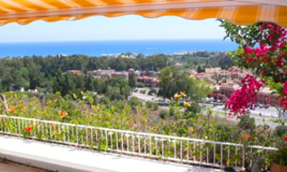 Penthouse apartment with private pool for sale, Golden Mile, Marbella 11