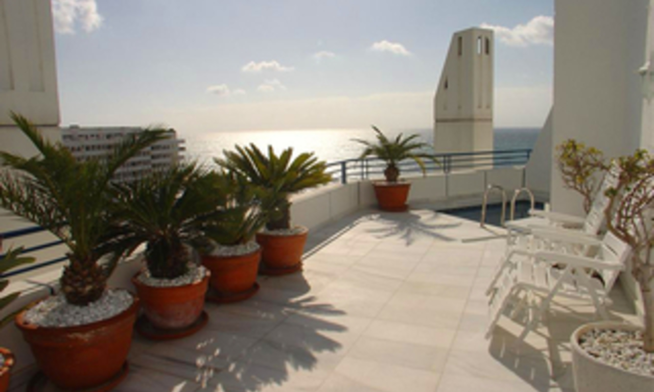 Luxury Penthouse apartment for sale in Marbella centre 1