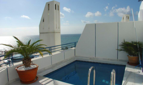 Luxury Penthouse apartment for sale in Marbella centre