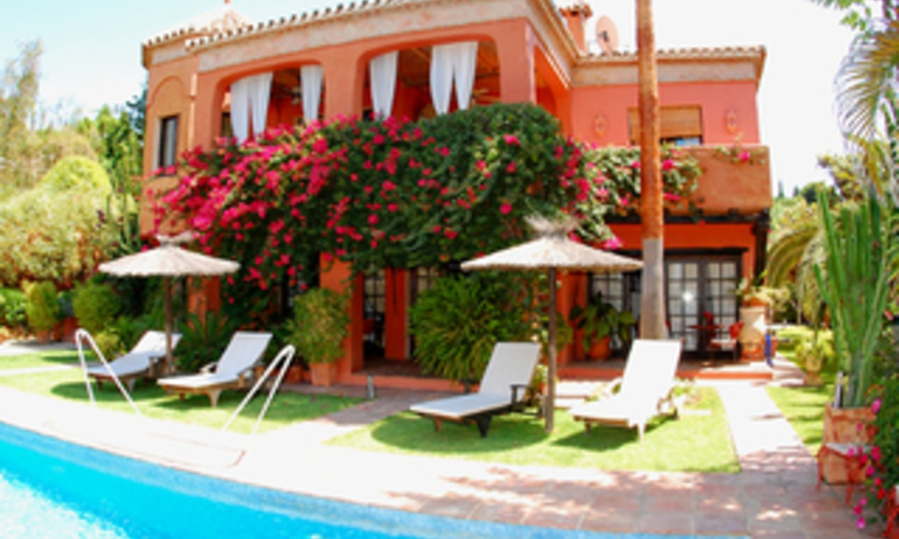 Villa for sale in Marbella east, Costa del Sol 0