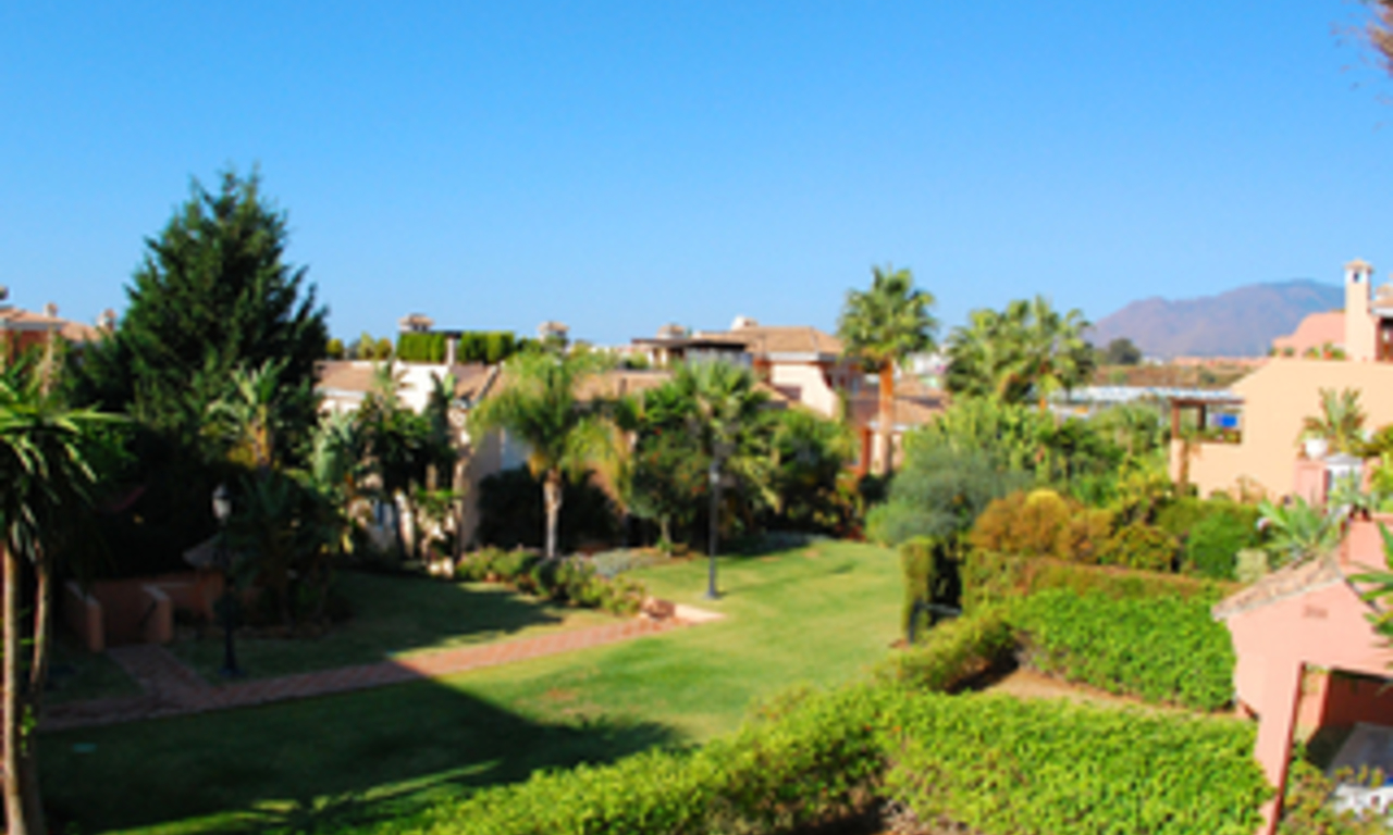 Beachside apartment for sale, close to the beach, between Marbella and Estepona centre, Costa del Sol 0