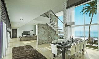 Modern New Villa For Sale in Marbella with panoramic sea view 4457