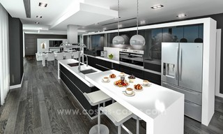 Modern New Villa For Sale in Marbella with panoramic sea view 4462