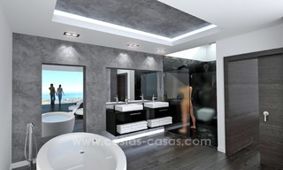 Modern New Villa For Sale in Marbella with panoramic sea view 4463