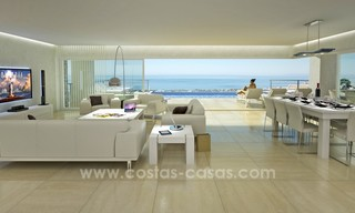 Modern New Villa For Sale in Marbella with panoramic sea view 4465