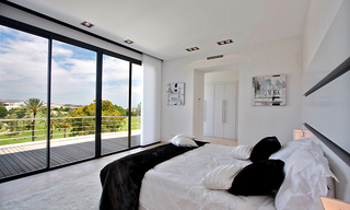 Frontline golf, contemporary villa for sale at Nueva Andalucia - Marbella 14