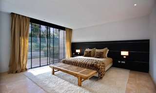 Frontline golf, contemporary villa for sale at Nueva Andalucia - Marbella 16