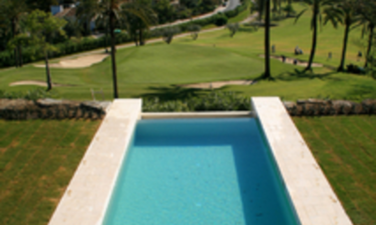 Frontline golf, contemporary villa for sale at Nueva Andalucia - Marbella 22