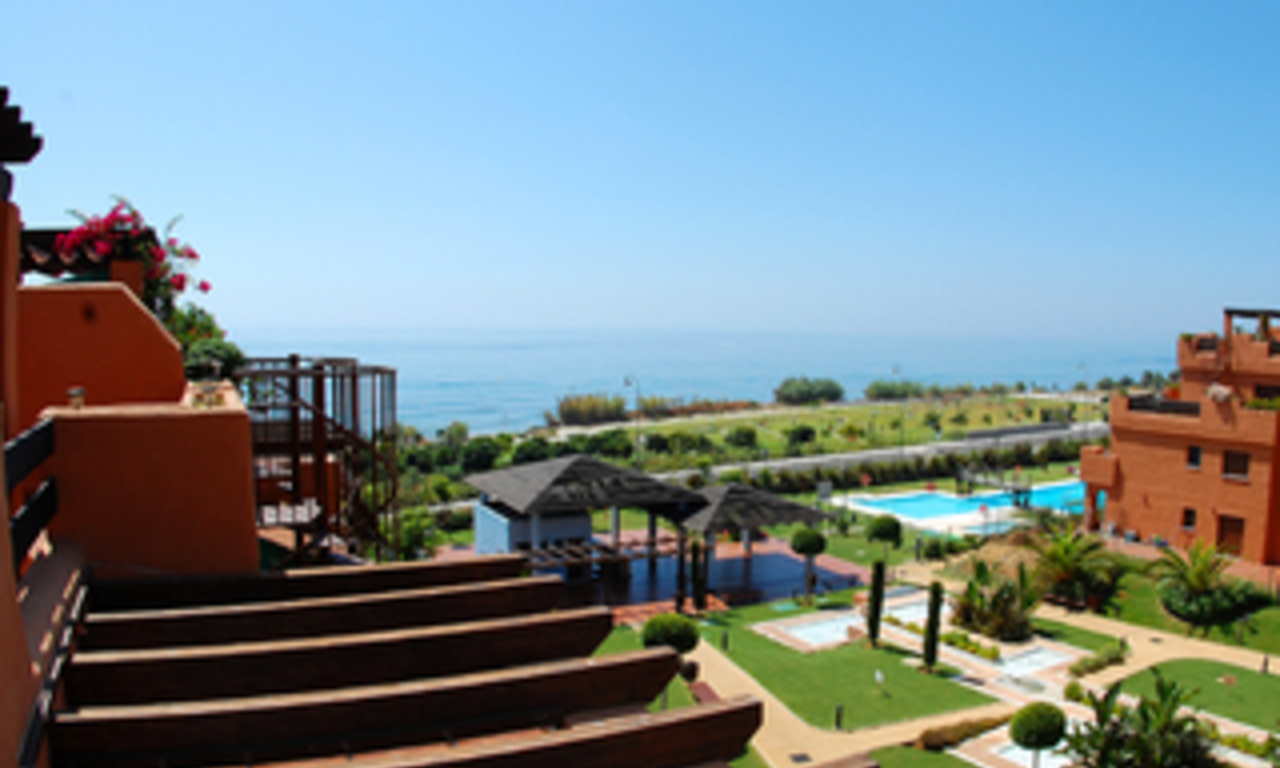 Beachfront apartments and penthouse for sale, Estepona, Costa del Sol 0