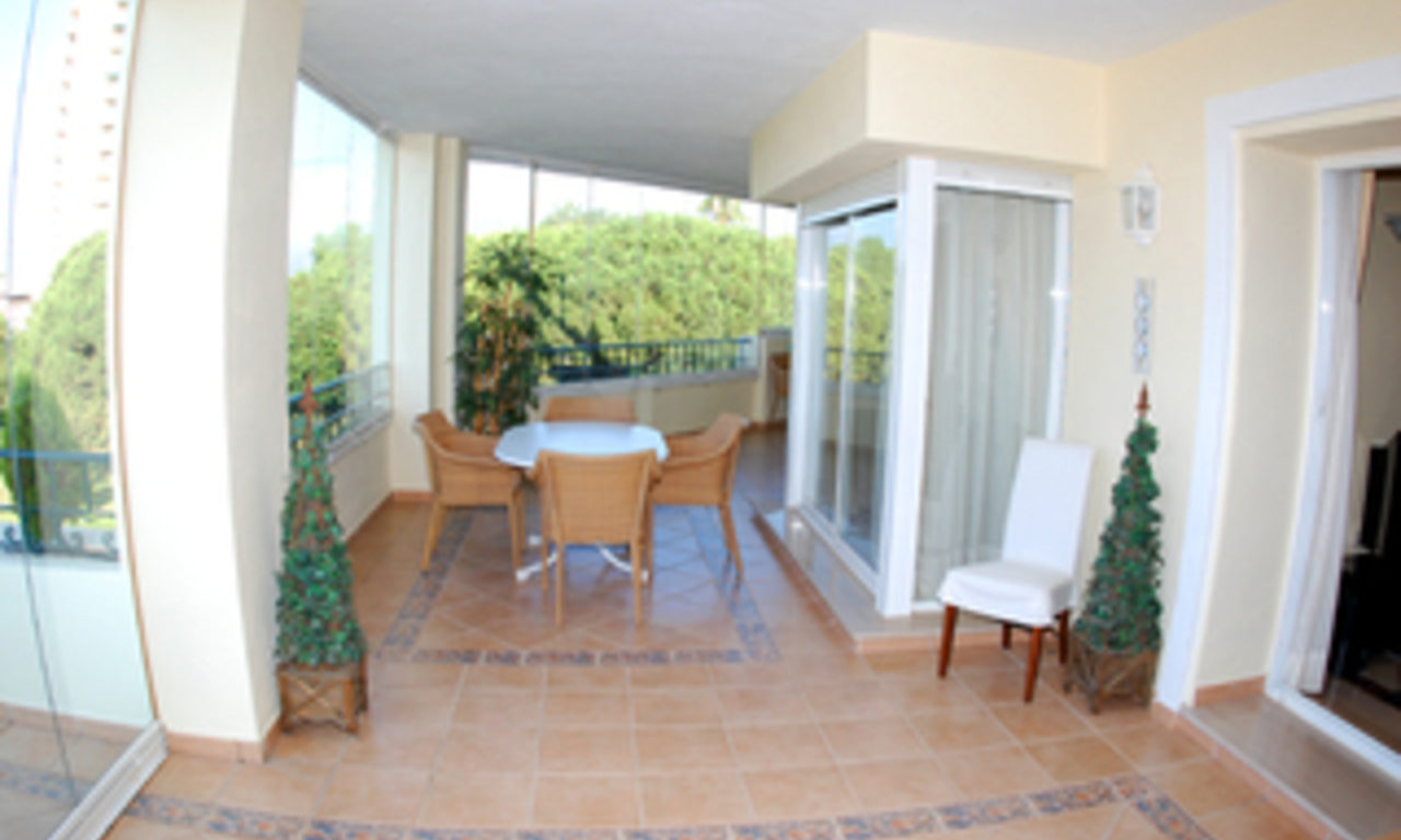 Beachside luxury apartment for sale, Elviria, Marbella east 7
