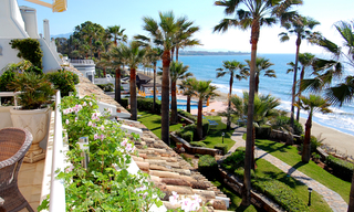 Spacious frontline beach penthouse for sale, New Golden Mile, between Marbella and Estepona. 2