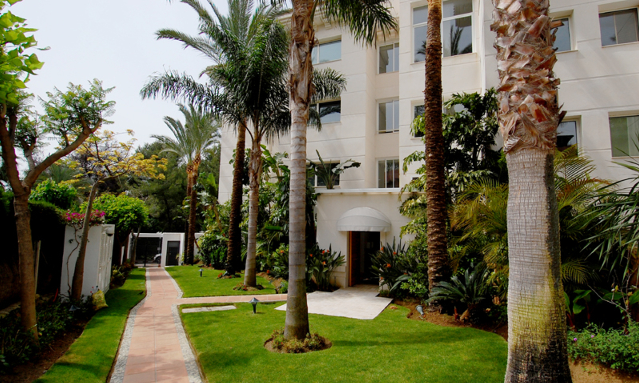 Marbella Golden Mile for sale: Luxury apartment to buy 12