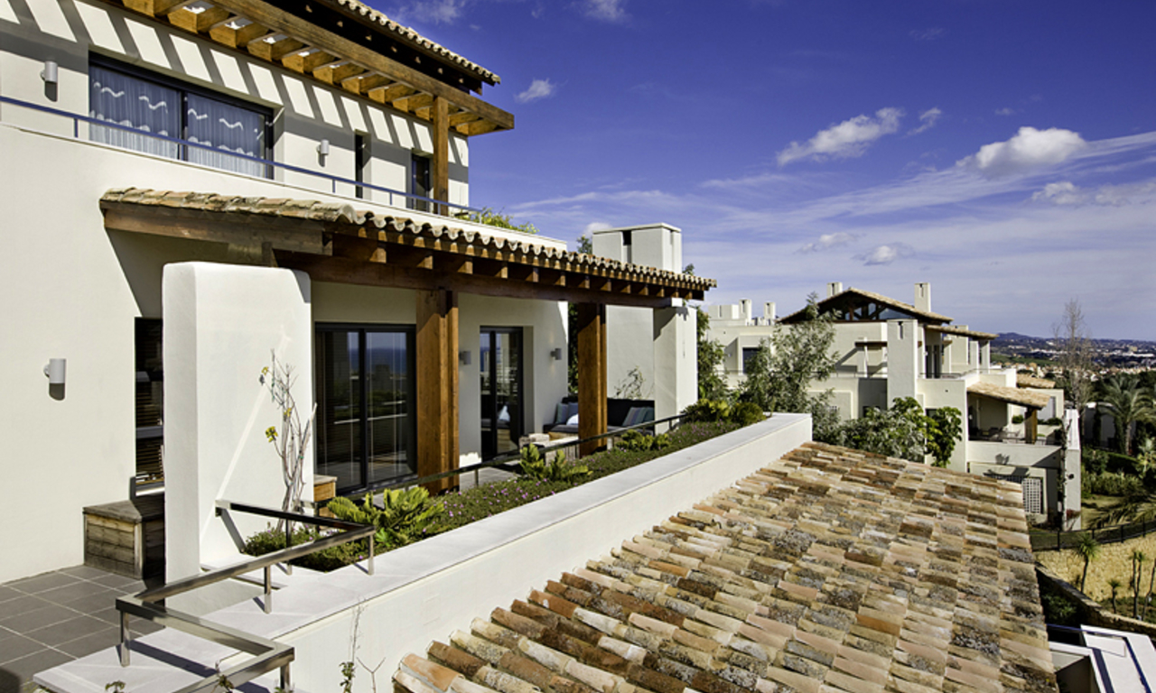 Modern and Luxury penthouse apartment for sale, Golden Mile, Marbella 1