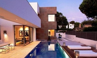 New Contemporary villa for sale on the Golden Mile in Marbella 2