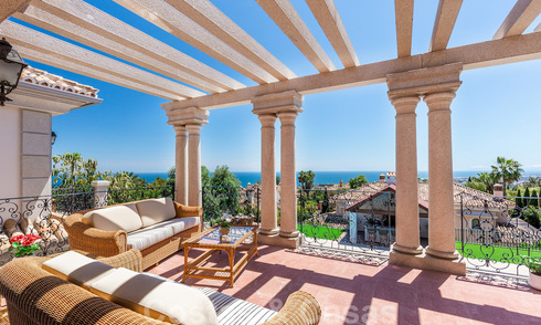 Luxury villa with open sea views for sale in Sierra Blanca, Marbella 22197