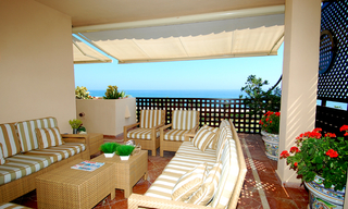 Frontline beach penthouse for sale - New Golden Mile between Puerto Banus (Marbella) and the centre of Estepona 7