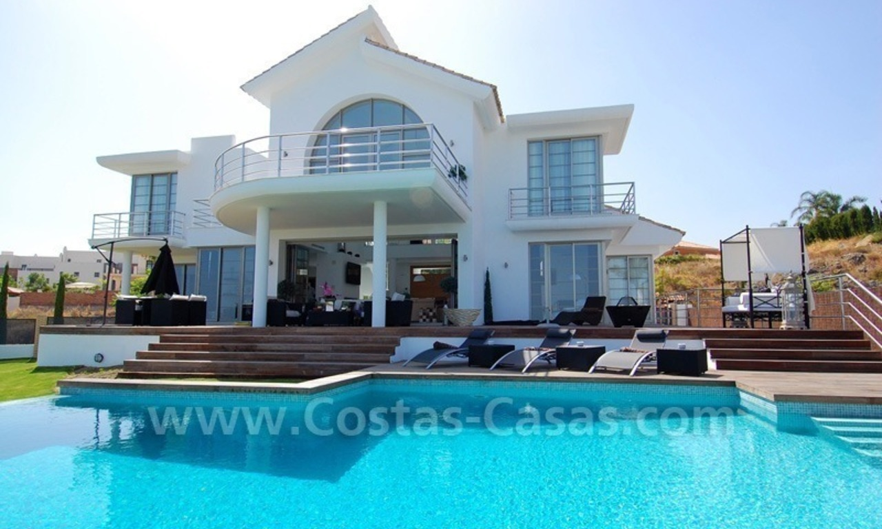 Distressed sale - Modern style villa for sale in a gated golf resort between Marbella, Benahavis and Estepona 2