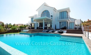 Distressed sale - Modern style villa for sale in a gated golf resort between Marbella, Benahavis and Estepona 1