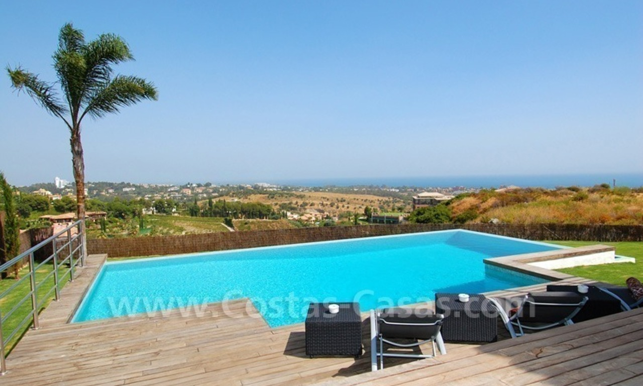 Distressed sale - Modern style villa for sale in a gated golf resort between Marbella, Benahavis and Estepona 6