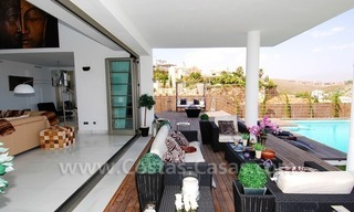 Distressed sale - Modern style villa for sale in a gated golf resort between Marbella, Benahavis and Estepona 10
