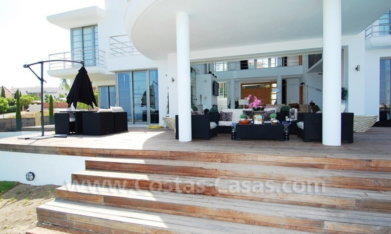 Distressed sale - Modern style villa for sale in a gated golf resort between Marbella, Benahavis and Estepona 8