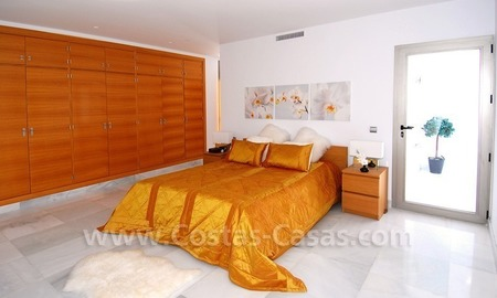Distressed sale - Modern style villa for sale in a gated golf resort between Marbella, Benahavis and Estepona 25