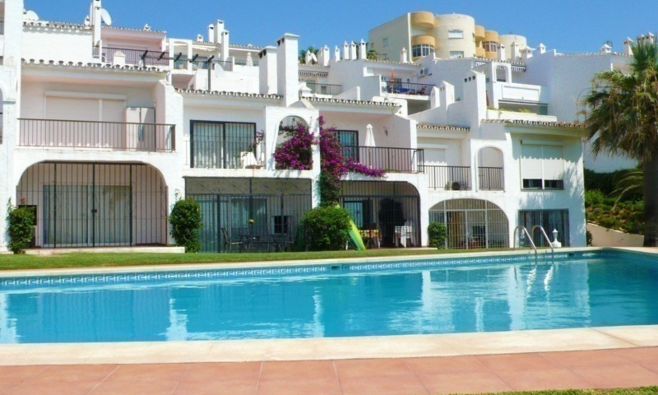 Frontline beach apartment for sale in Mijas, Costa del Sol 4