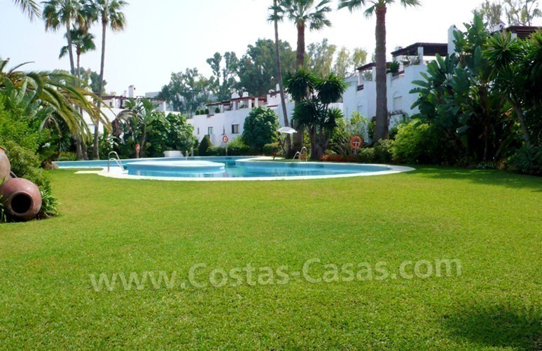 Beachside townhouse for sale in Marbella