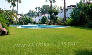 Beachside townhouse for sale in Marbella 0