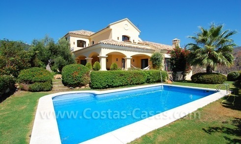 Luxury Villa for sale on golf resort Marbella - Benahavis