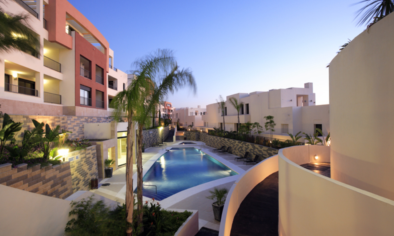 Luxury modern apartments for sale in Marbella with spectacular sea views 5