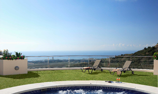 Luxury modern apartments for sale in Marbella with spectacular sea views 3