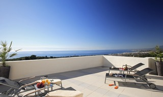 Luxury modern apartments for sale in Marbella with spectacular sea views 0